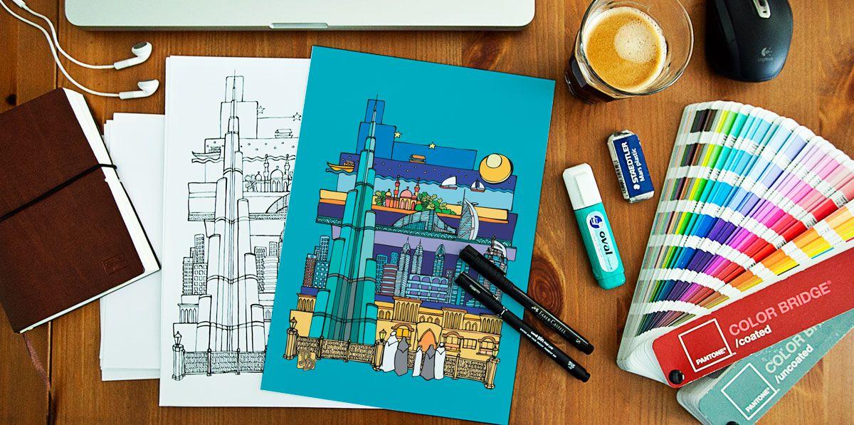 Dubai Doodles